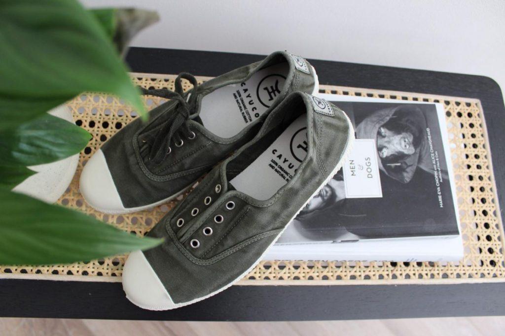 Draag jij al canvas schoenen?